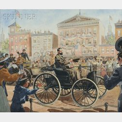 Dean Cornwell (American, 1892-1960)      Independence Day Parade
