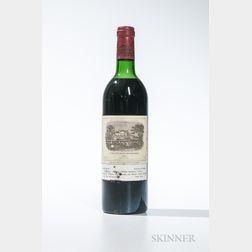 Chateau Lafite Rothschild 1982, 1 bottle