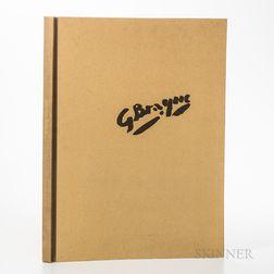 Braque, Georges (1882-1963) Phoebus Collotypes,   Ten Works.