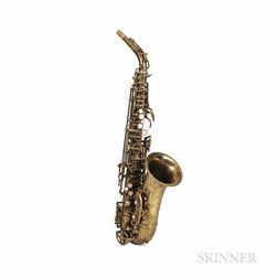 Alto Saxophone, F.E. Olds & Son Opera, c. 1956