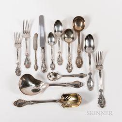 Tiffany & Co. Richelieu Pattern Sterling Silver Flatware Service