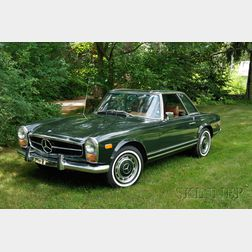 *1969 Mercedes Benz 280SL Coupe Roadster