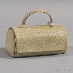 Ivory Leather Handbag