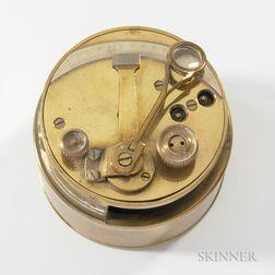 Brass Pocket Sextant