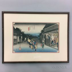 Utagawa Hiroshige (1797-1858), Goyu  ,