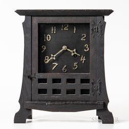 """New Haven Clock Company """"Los Santos"""" Mission Mantel Clock"""
