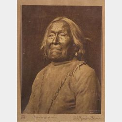 Karl Moon (American, 1878-1948),   Portrait of an Elderly Apache Man