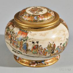 Satsuma Covered Censer