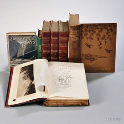 Hunting and Fishing, Six Titles in Seven Volumes.