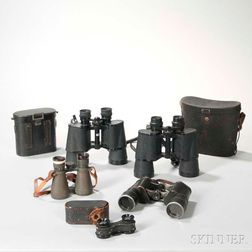 Five Pairs of Binoculars