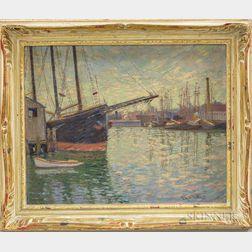 Lester Gillette (American, 1855-1940)      Harbor View