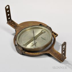 Rare Benjamin Platt Surveyor's Compass