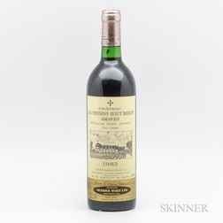 Chateau La Mission Haut Brion 1983, 1 bottle
