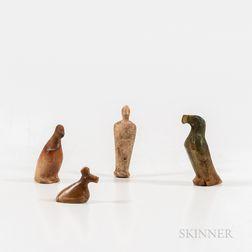 Four Eskimo Figures