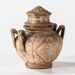 Eskimo Sealskin Jar