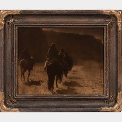 Edward Curtis (American, 1868-1952) Oratone Photograph