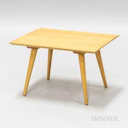 Blonde Wood Side Table