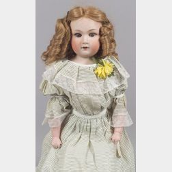 "Large Heubach Bisque Shoulder Head ""Dainty Dorothy"" Doll"