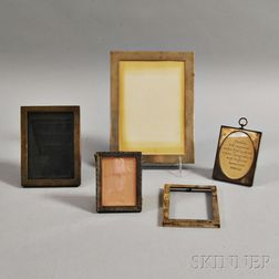 Five Sterling Silver Picture Frames