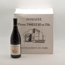 Pierre Usseglio Chateauneuf du Pape 2010, 12 bottles (oc)