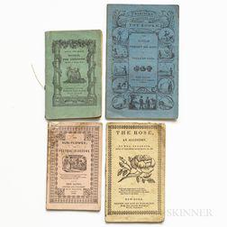 Chapbooks, American, 19th Century, Approximately Twenty.