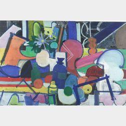 Henry Kallem (American, 1912-1985)  Arrangement