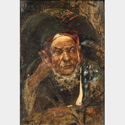 Attributed to Mariano Fortuny y Marsal (Italian, 1838-1874)      Gitano