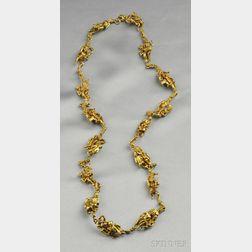 Erotic 18kt Gold Necklace, Eric de Kolb