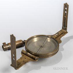 Abiel Chandler Surveyor's Compass