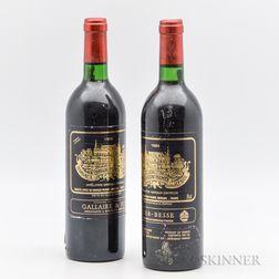 Chateau Palmer 1983, 2 bottles