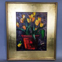 Graydon Foulger (American, b. 1942)      Yellow Tulips