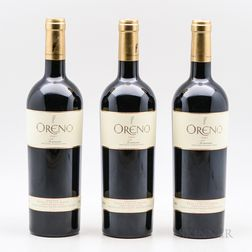Sette Ponti Oreno 2007, 3 bottles