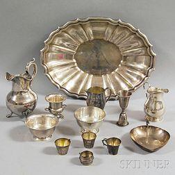 Thirteen Assorted Silver Items