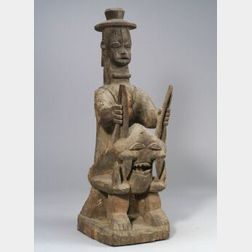 African Carved Wood Sculpture