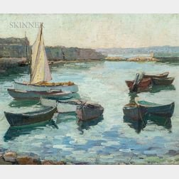 Emily Hortense Budell (American, 1884-1981)      The Cove