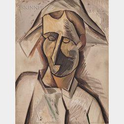 After Pablo Picasso (Spanish, 1881-1973)      Un éventail (1905-1914)