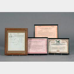 Four Items of Horological Ephemera