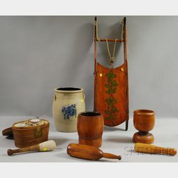 Nine Assorted Decorative Country and Americana Items