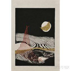 Reika Iwami (b. 1927), Water and Moon