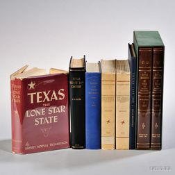 Texas, Six Titles in Eight Volumes.