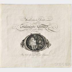Meyer, Johann Heinrich (1760-1832) Mahlerische Reise in die Italienische Schweiz: mit geazten Blattern.