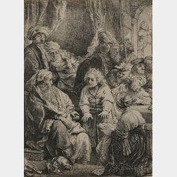 Rembrandt van Rijn (Dutch, 1606-1669)      Joseph Telling his Dreams