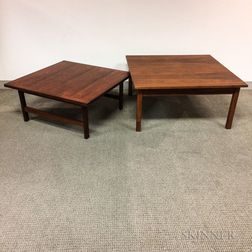Two Teak Coffee Tables