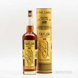 Colonel EH Taylor Warehouse C Tornado Surviving, 1 750ml bottle (ot) Spirits cannot be shipped. Please see http://bit.ly/sk-spirits...