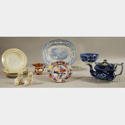 Twelve Assorted Ceramic Tableware and Decorative Items