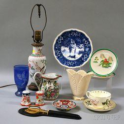 Thirteen Mostly Ceramic Decorative Items