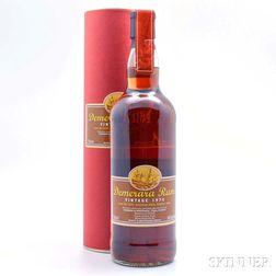 Demerara Rum 30 Years Old 1974, 1 750ml bottle (ot)