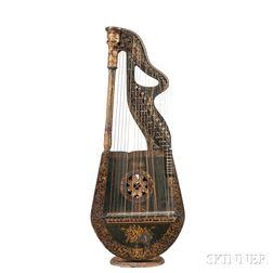 Edward Light Dital Harp, c. 1830