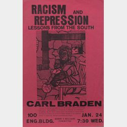 Black Power and Civil Rights, Seven Posters.