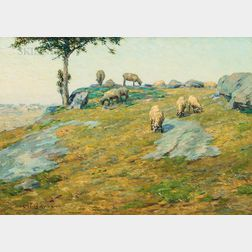 Charles Henry Hayden (American, 1856-1901)      Pasture Land